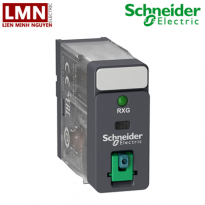 RXG12FD-schneider-relay-trung-gian-rxg-led-test-button-1co-10a-110vdc